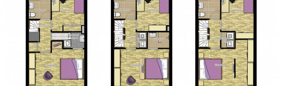 007 07 Plattegrond 1e Verdieping