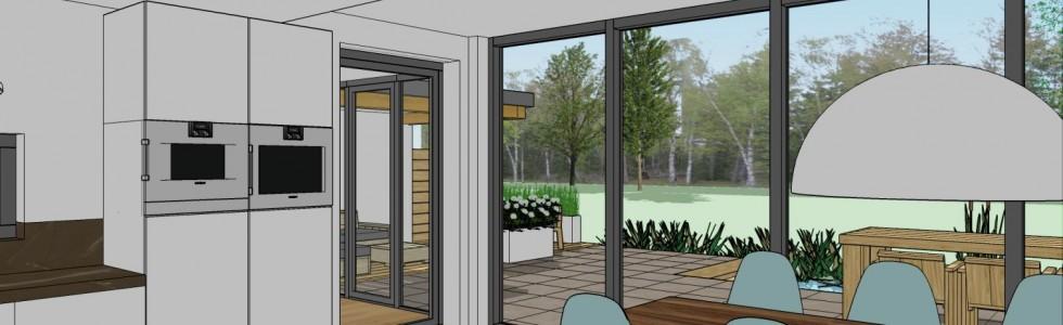 003 Purmerend Woning 2 Onder 1 Kap 11 Interieur Uitbreiding 3D