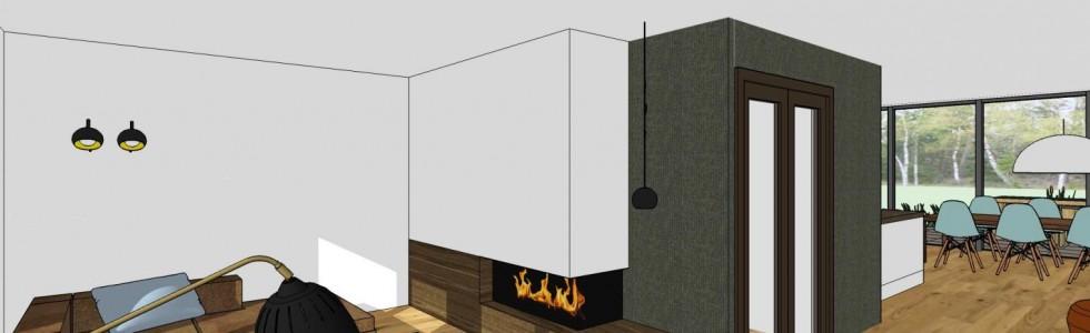 003 Purmerend Woning 2 Onder 1 Kap 12 Interieur Zithoek 3D
