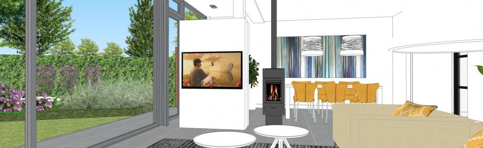 10 Purmerend Woonhuis Uitbreiding Achtergevel Interieur 3D Zithoek 03 Nieuw 2018